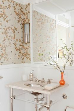 衛生間墻紙裝修設計圖