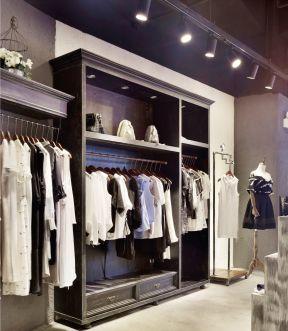 2017小型服装店装修效果图大全2013图片
