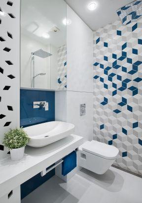 卫生间瓷砖拼花装修设计图