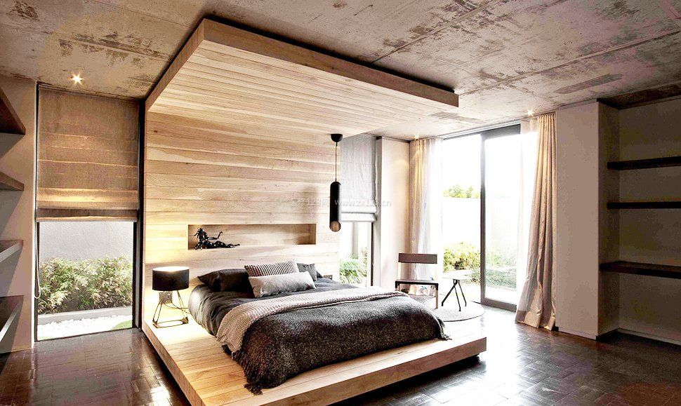 家庭装修单身卧室吊顶设计图片