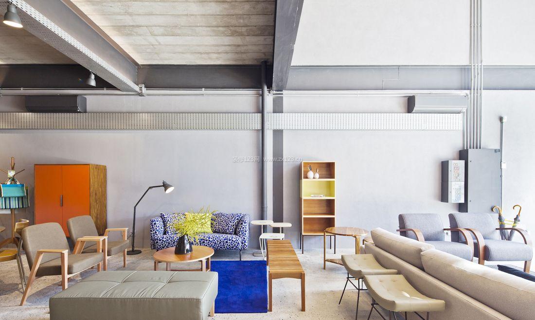 北欧风格家具店装修效果图