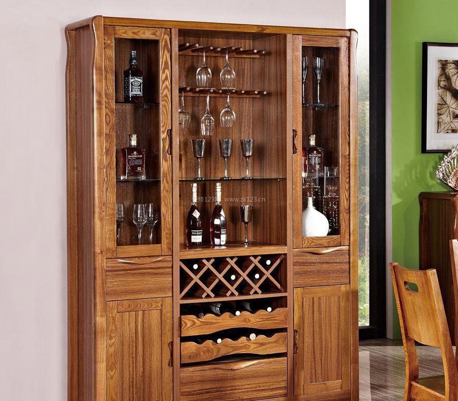 室内中式酒柜装修图片大全图片