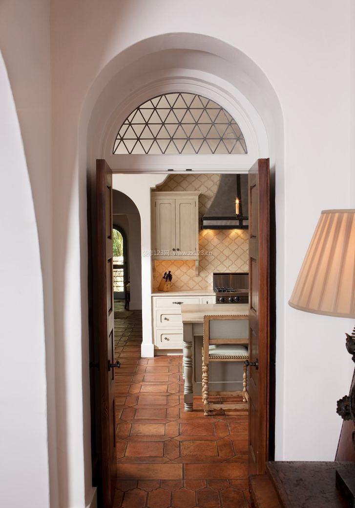 欧式室内拱形门装修效果图