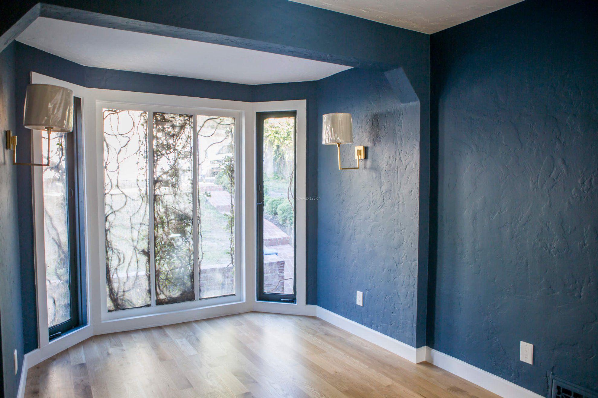 家装效果图 墙面 复式楼彩色墙面漆装修效果图片 提供者:   ←