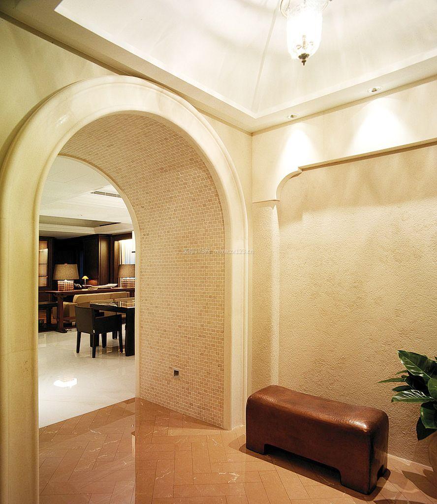 欧式室内拱形门装修效果图片