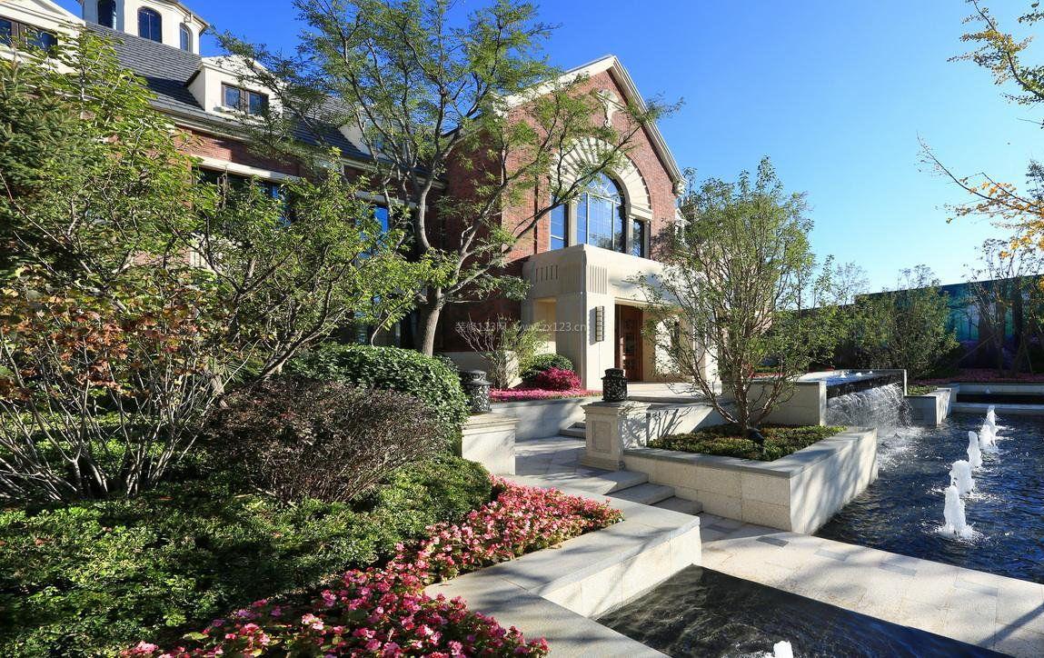 国外私家别墅庭院设计效果图欣赏