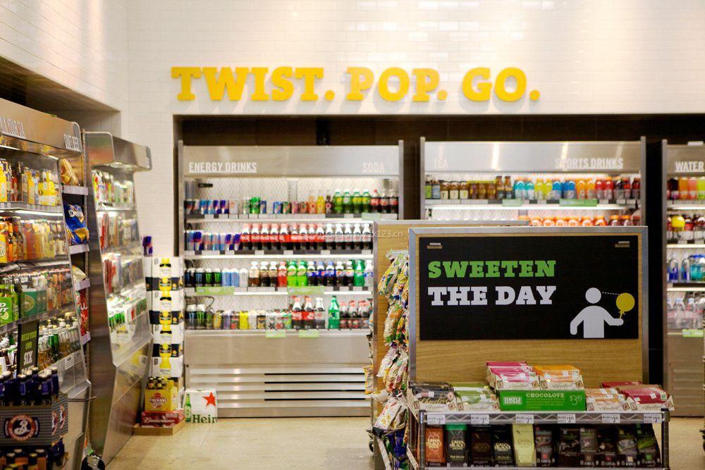 超市创意陈列图片案例效果图图片