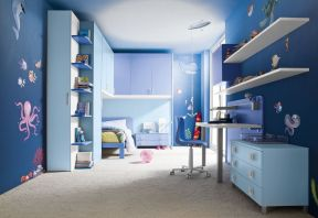 彩色墻面漆效果圖 兒童房顏色