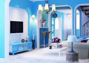 彩色墻面漆效果圖 時尚家裝