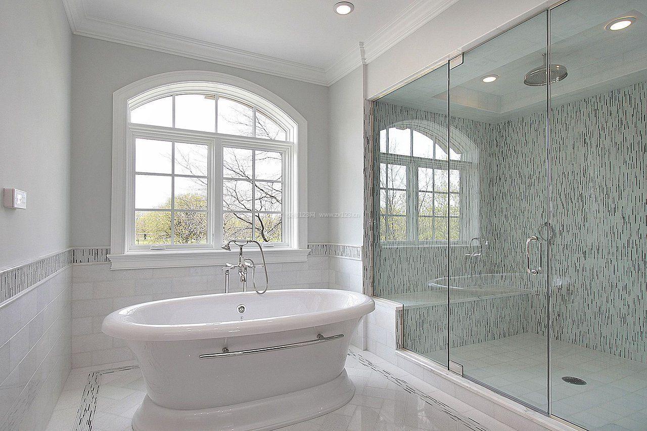 浴室玻璃门装修效果图