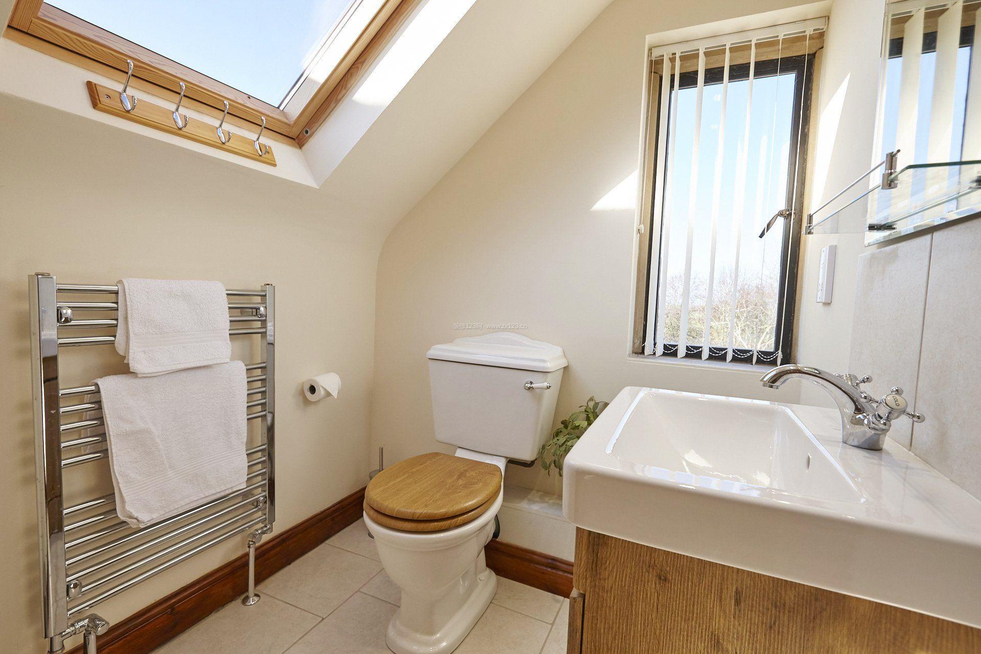 阁楼浴室装修效果图
