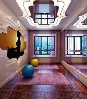 装修效果图 广元轰趴馆装修效果图片    大型瑜伽馆室内设计装修效果