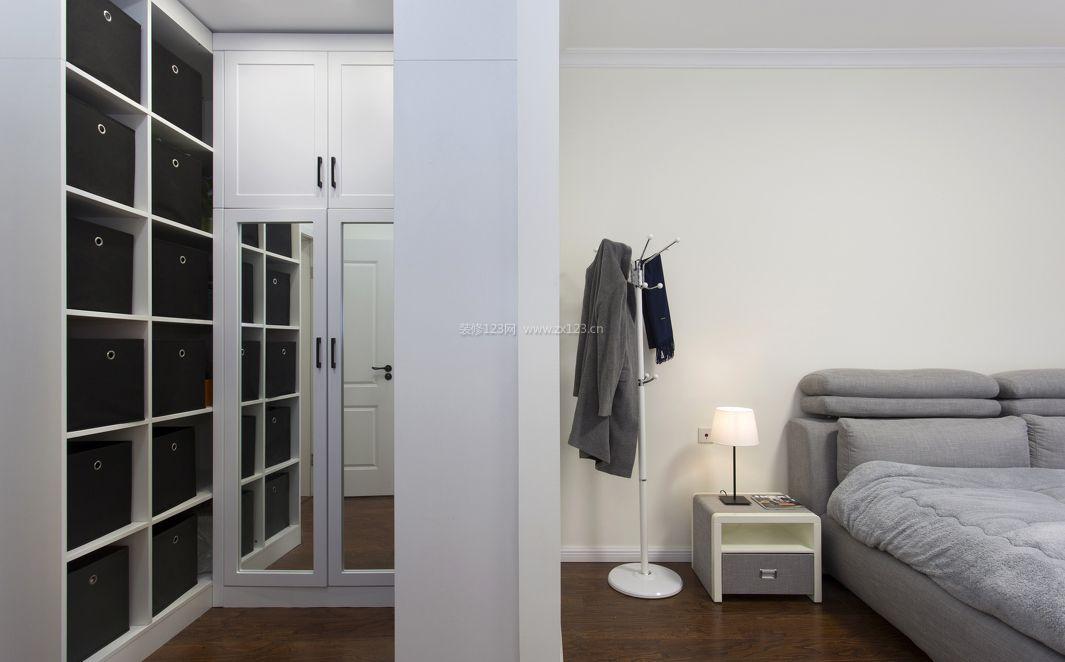 公寓式住宅卧室隔断墙装修效果图