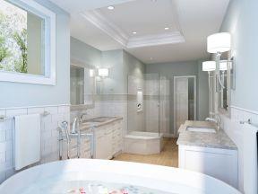 衛生間安裝效果圖 豪華歐式風格