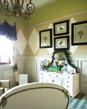 新农村房子室内照片墙设计效果图