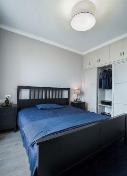 簡潔臥室整體衣柜設計效果圖