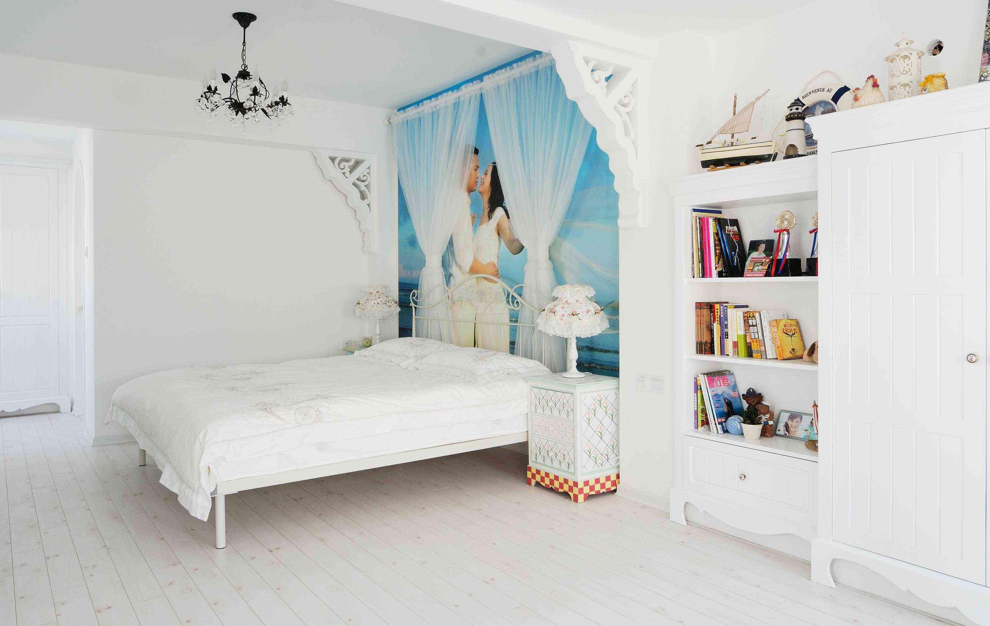 婚房公寓式住宅装修设计效果图