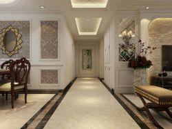 美式别墅走廊玄关过道装修效果图图片