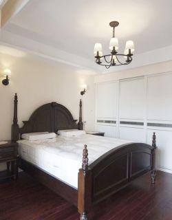 現代美式臥室衣櫥效果圖
