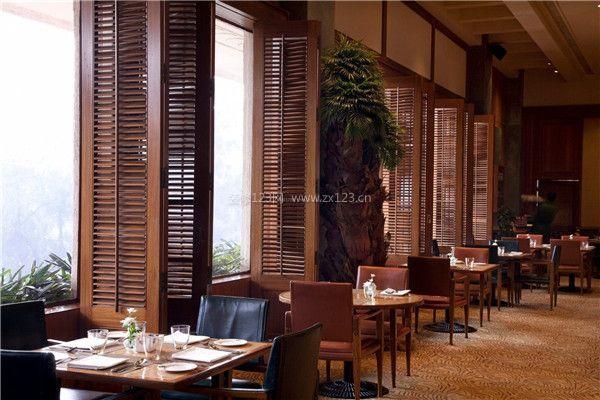 餐馆室内装修设计效果图