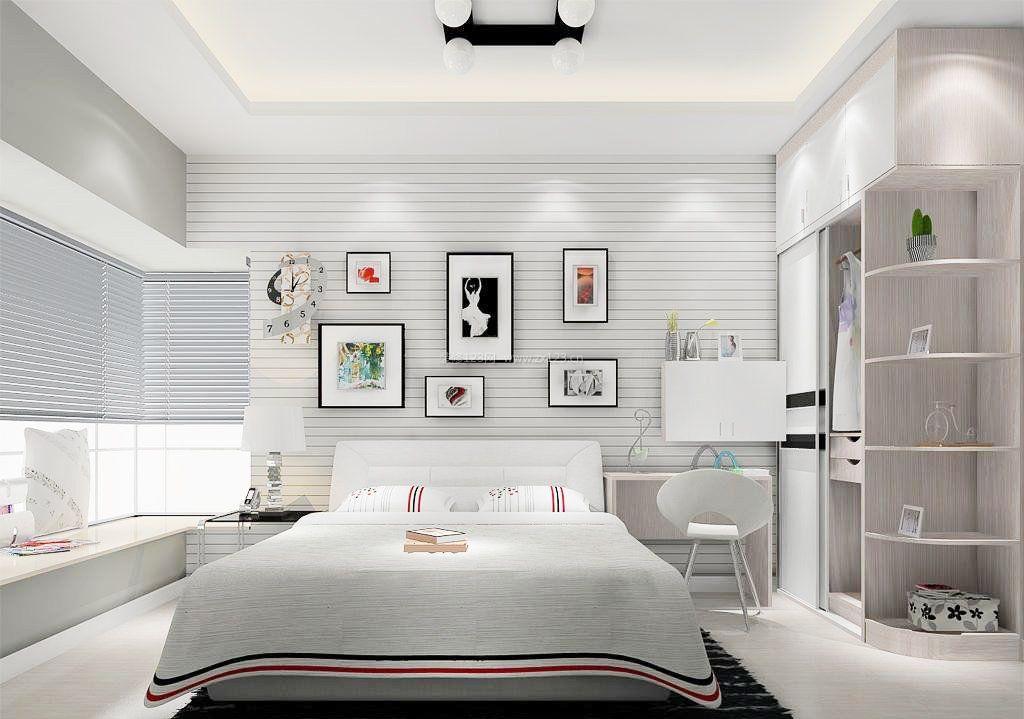 现代家居简约卧室装修风格