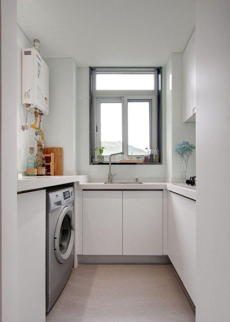 现代45平米小户型厨房装修效果图片