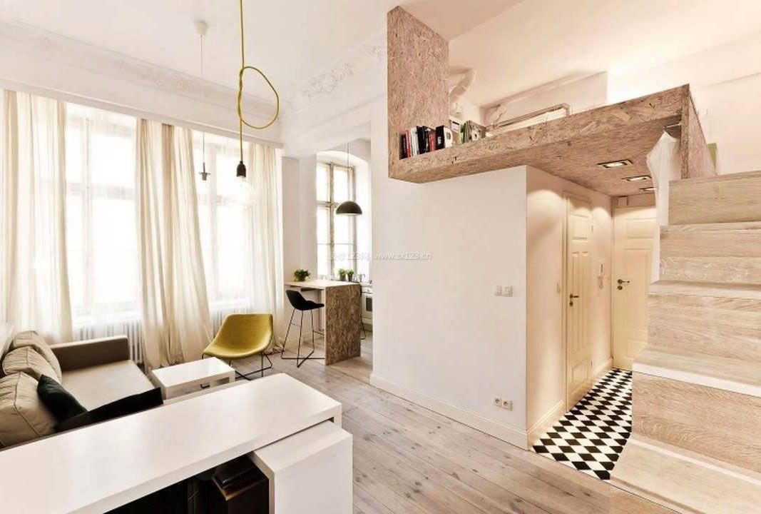 45平米一室一厅小户型装修图片