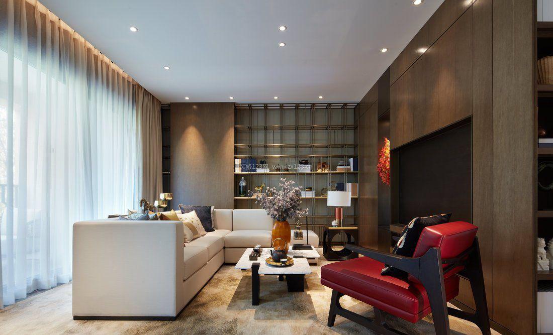 现代小户型新房客厅装修设计效果图