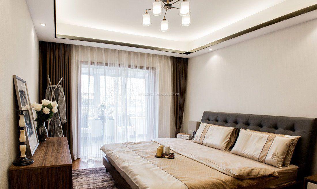 新房装修家居卧室窗帘设计图