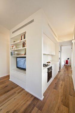 45平米小户型简约卧室设计装修图片