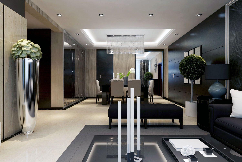 现代室内客餐厅装修效果图大全