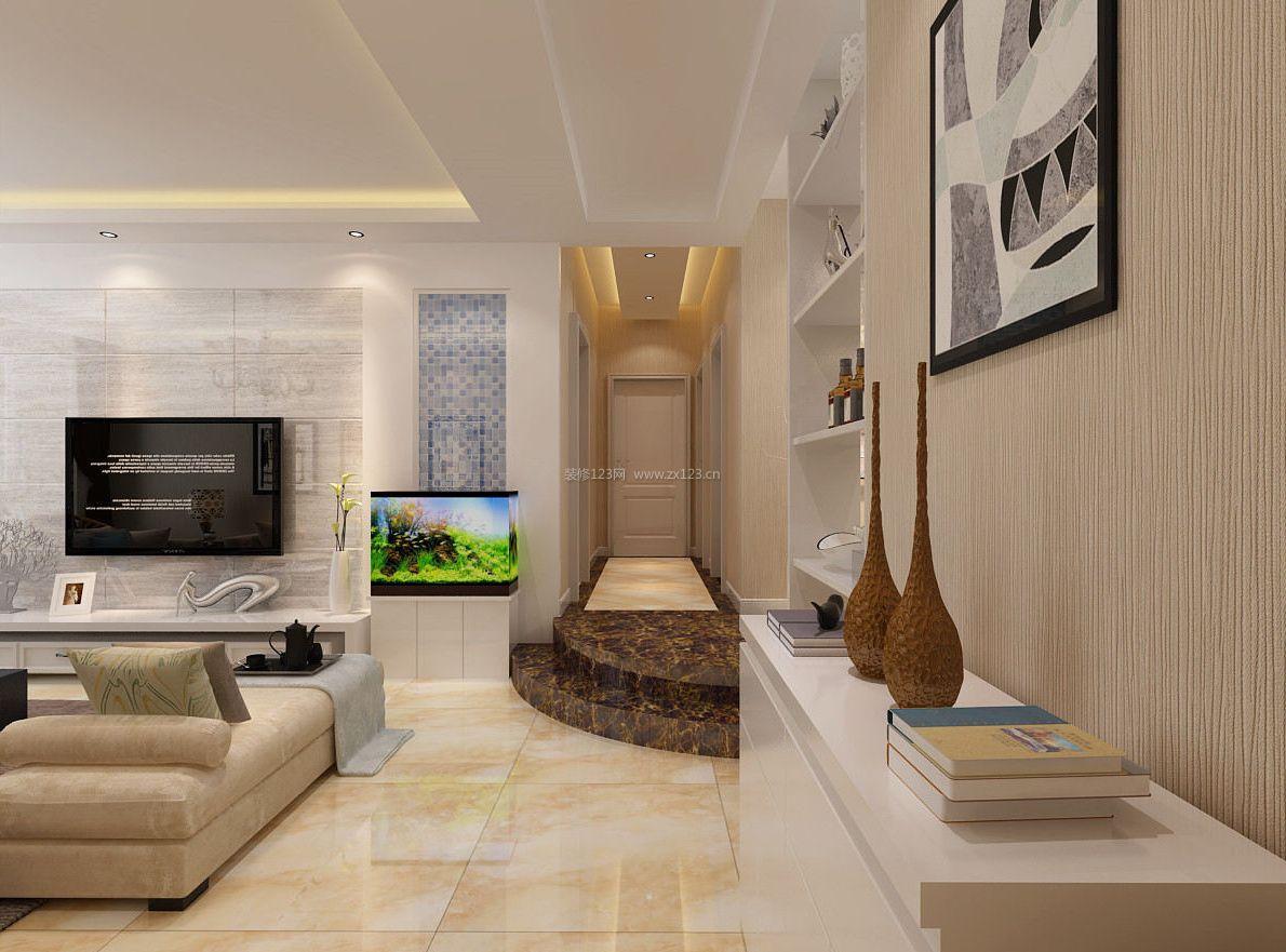 现代120平米错层房屋装修效果图大全