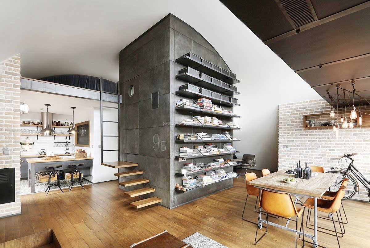 loft小户型公寓创意设计装修效果图