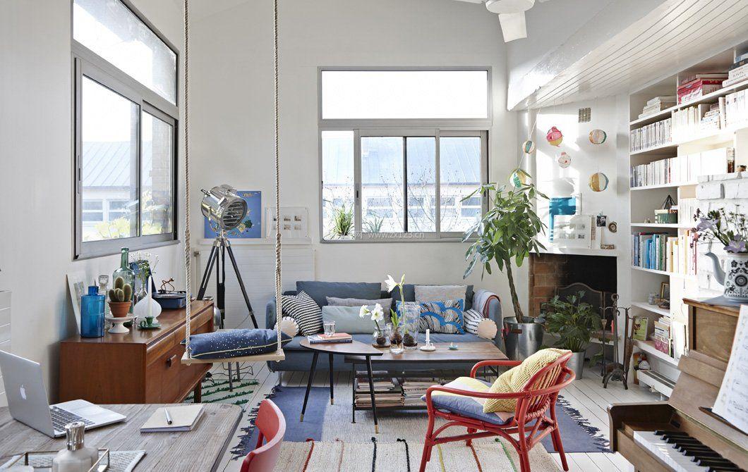 纯欧式风格装修小户型家具摆放效果图图片