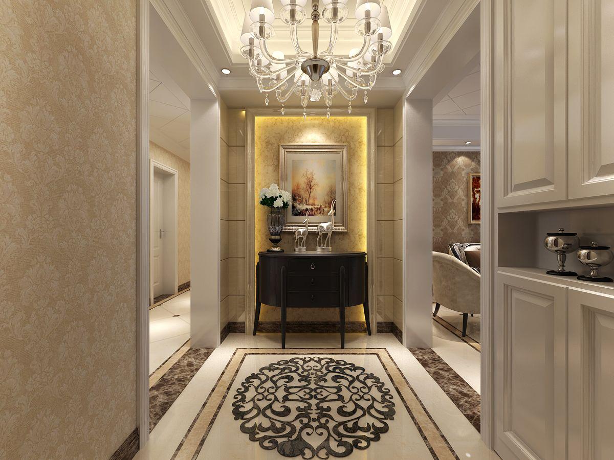 欧式家居室内拼花地砖装修效果图片图片