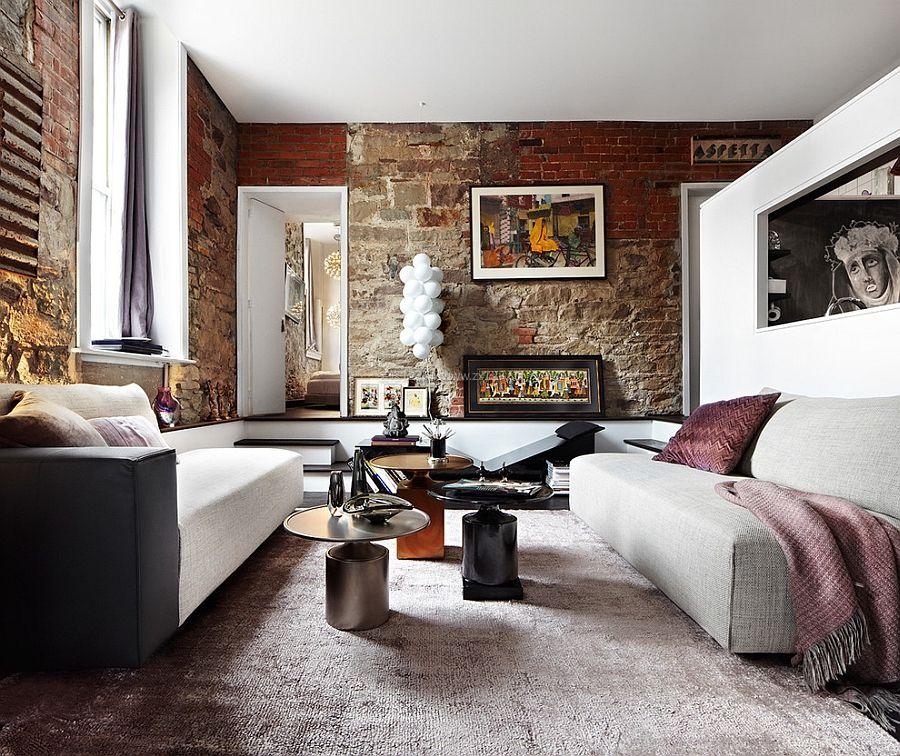 旧房子客厅地毯装修效果图片大全