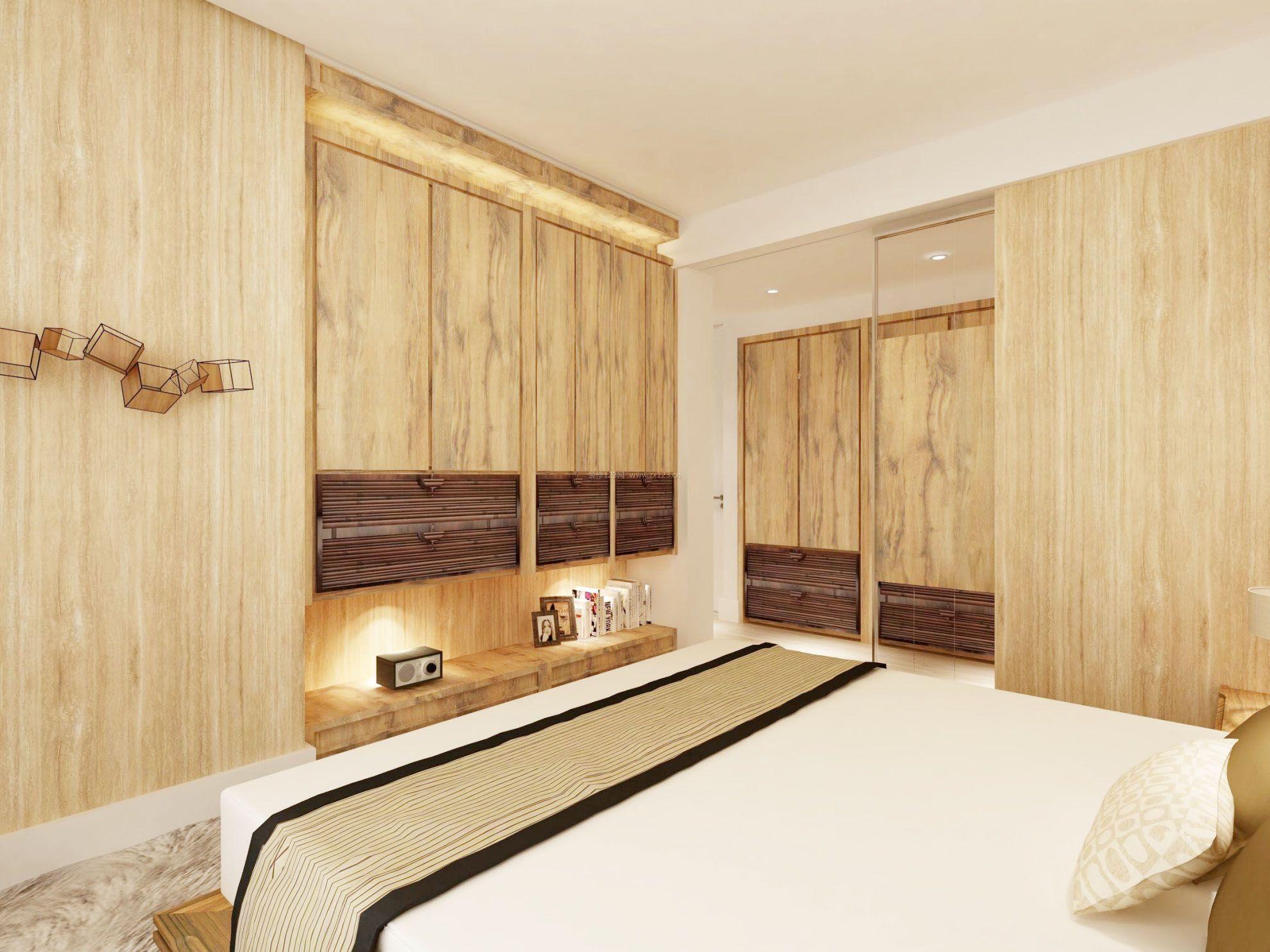 原木风格小户型家具摆放装修效果图