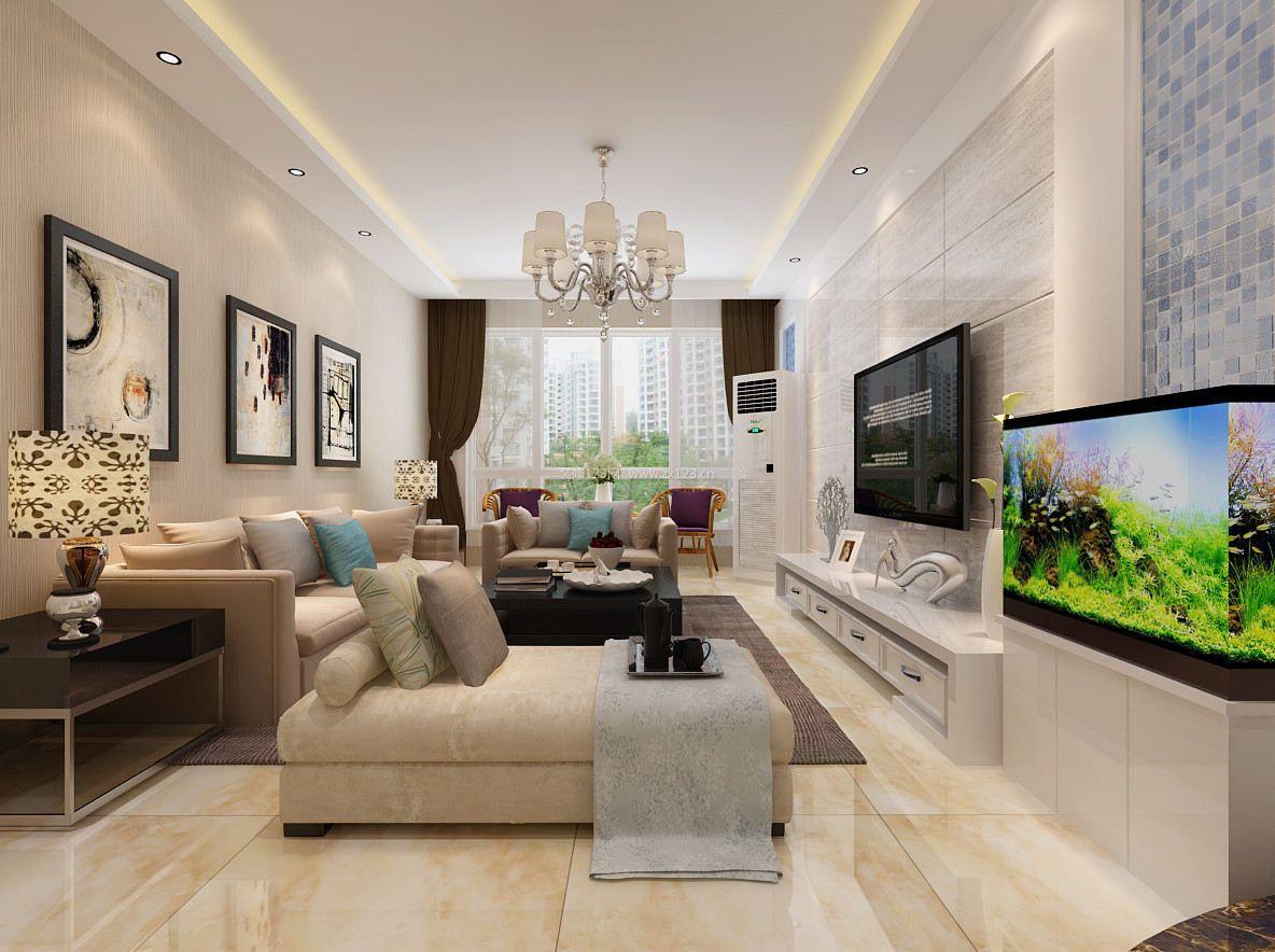 错层房屋装修效果图大全 现代风格客厅装修效果图欣赏