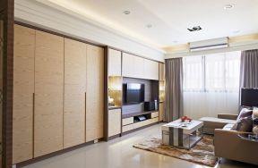 三室一廳房子裝修圖片 客廳電視組合柜圖片