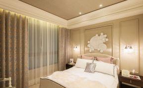 三室一廳房子裝修圖片 床頭壁燈