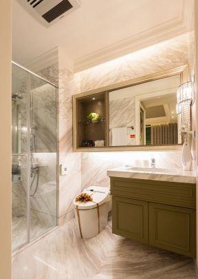 三室一廳房子裝修圖片 衛生間瓷磚裝修效果圖
