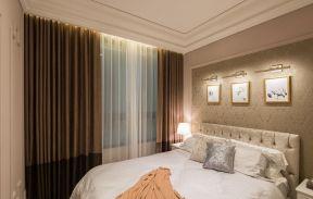 三室一廳房子裝修圖片 臥室窗簾裝修效果圖