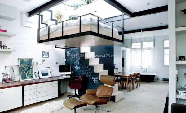 福州兴安名城loft58平米小户型设计方案