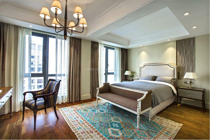 美式家居主卧室装修效果图大全图片