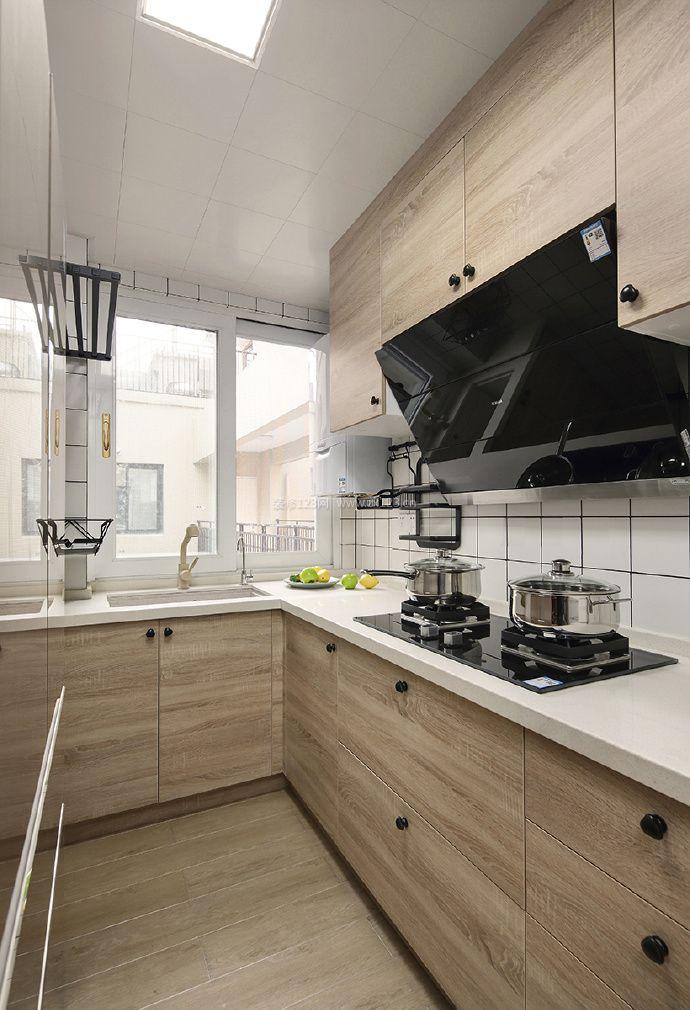 小户型日式厨房集成吊顶装修效果图_装修123