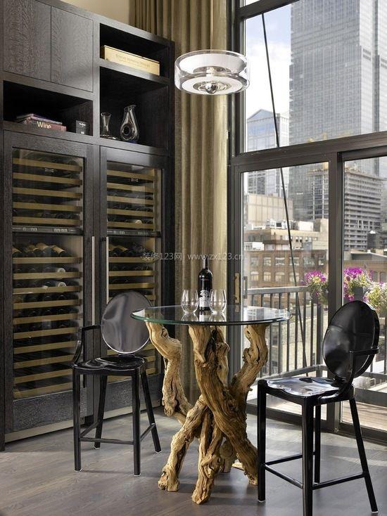 最新家庭酒柜设计效果图集