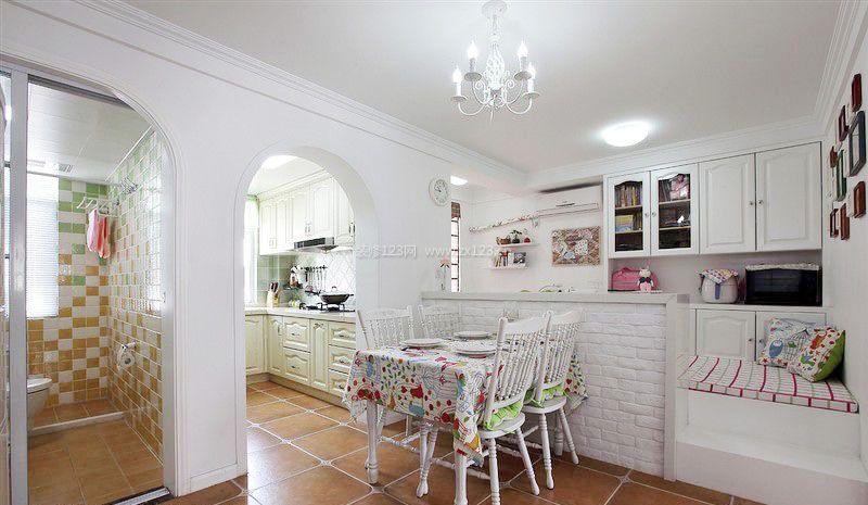 小户型餐厅卧室家装修设计效果图