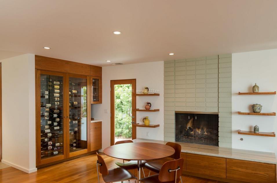 家庭酒柜设计装修效果图片大全
