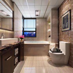 2017新中式卫生间石膏板吊顶装修效果图片图片