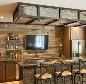 農村家庭家庭小酒吧裝修設計圖片-每日推薦